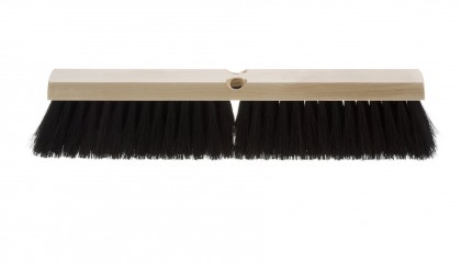 Horse Hair Blend Push Broom
